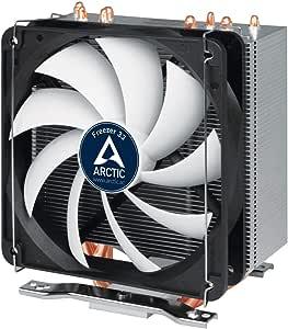 ARCTIC Freezer 33 - Semi-passiver Tower CPU Luftkühler, Prozessorlüfter für Intel und AMD Sockel bis 150 Watt TDP Kühlleistung, Cooler mit 120 mm PWM Lüfter - Leise und Effizient