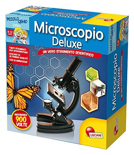Lisciani 51793 Microscopio Juguete y Kit de Ciencia para niños - Juguetes y Kits de Ciencia para niños (Biología, Microscopio, 7 año(s), Niño/niña, 12 año(s)