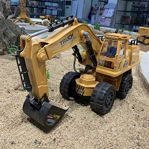 RC Auto kaufen Baufahrzeug Bild 3: Baufahrzeuge Ferngesteuerter Bagger Rc Kinder - 1:8 10-Kanal Ferngesteuerter Bagger Mit 2,4G Fernbedienung Elektrisches Spielzeug Für Kinder*