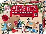 KOSMOS AllesKönnerKiste Bastel-Adventskalender 2019, für Mädchen und Jungen ab 8 Jahren, Weihnachtsbasteln für die ganze Familie, kreative kleine Geschenke für Kinder und Erwachsene gestalten