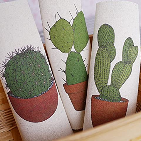 Nuove 3PCS / set dipinto a mano tinti di cotone