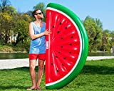MUNICHSTANDARD MELONE - WATERMELON - aufblasbare Melone - riesige aufblasbare Luftmatratze, Floaty, Pool Luftmatratze, Floß, PVC, schwimmen, Pool, Beach, Strand, Party, XL Luftmatratze