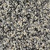 RyFo Colors Buntsteinputz Classic Line 108 grau/schwarz/weiß 25kg (Farbe und Größe wählbar) - Fertigputz für innen und außen, Sockelputz, Mosaikputz, Natursteinputz, witterungsbeständig, zertifiziert