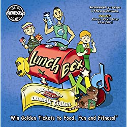 Health and Fitness Educational Activity Board Game Board Game by LunchBox Kids, LLC