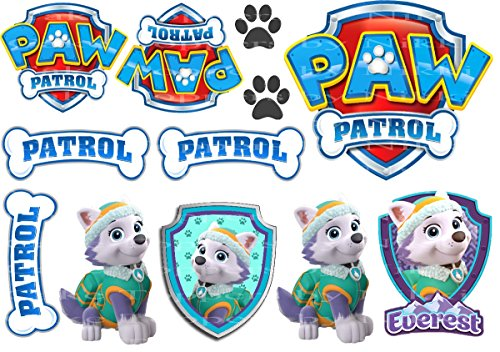 edible-icing-paw-patrol-everest-dogs-signs-cake-toppers