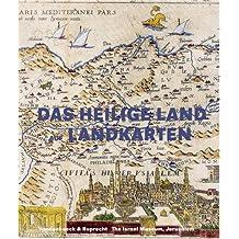Das Heilige Land auf Landkarten