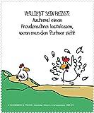 Reinigungstuch Brillenputztuch Hühner: Freudenschrei, Microfasertuch Reinigungstücher Brillenputztücher Tücher Hahn Huhn