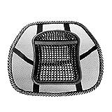 Fornateu Breathable Ineinander Greifen Gridding Relax Auto-Sitzkissen-Träger-Unterstützung Pad Bürostuhl Rückseiten-Rücken Taille Pflege Massage-Matte