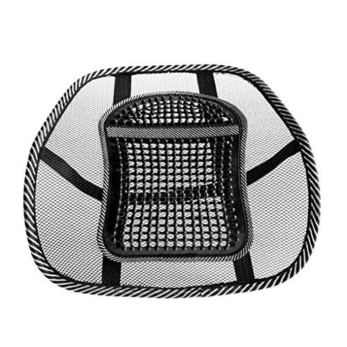 Atmungsaktives Mesh Gridding Relax Auto Sitzkissen Fahrzeug Unterstützung Pad Bürostuhl Zurück Lendenwirbel Taille Pflege Massagematte Praktisch -