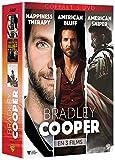 Coffret bradley cooper : happiness therapy ; american bluff ; american sniper