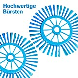 Hurricane SPIN BROOM 2 STÜCK Rotierender 360 Grad Besen Putzen Aufsaugen Schaufel Schmutzauffangbehälter - das Original von Mediashop - 5