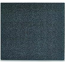zeller 26281 paraschizzi per cucina con effetto granito in vetro colore antracite