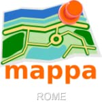 Rome, Italy, Offline mappa Map - Cart...