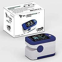 Dr Vaku Swadesi Finger Tip Pulse Oximeter, Multipurpose Digital Monitoring Pulse Meter Rate & SpO2 with LED Digital Display