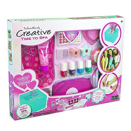 Time to Spa 037–Creative Behandlung von Schönheit für Pediküre, Pink (Pediküre Spa)