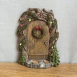 Weihnachten Pixie, Elfe, Fairy Tür-Baum Garten Home Decor-Fun Schrulliges Geschenk Figur-Anthony Fisher Kerzenhalter