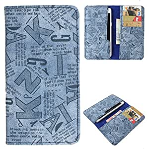 DooDa PU Leather Case Cover With Card Slots For Lenovo A526