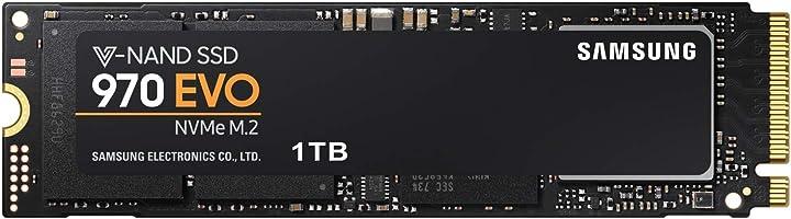 Samsung 970 EVO - Disco Duro sólido de 1 TB