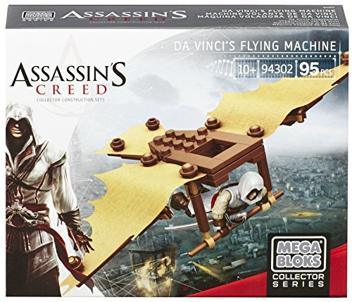Mega Bloks 94302U - Assassin's Creed Da Vinci's Flying Machine Spiel