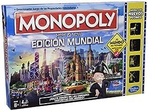 Hasbro Gaming - Juego de mesa Monopoly Edición Mundial (B2348546) (versión española)