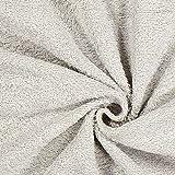 Fabulous Fabrics Frottee – Hellgrau — Meterware ab 0,5m — Oeko-Tex Standard 100 — zum Nähen von Bademoden