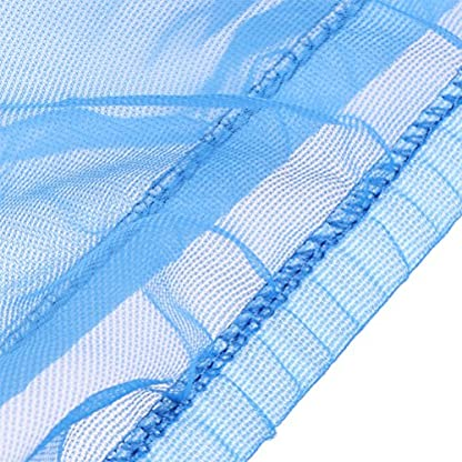 Ueetek Cage Cover Protection Mesh for Small Birds, Mesh Protection for Bird Cages (Blue) 3
