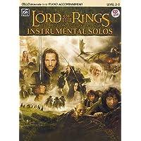 Lord of the Rings (Herr der Ringe) - Filmmusik arrangiert für Violoncello und Klavier inkl. Playalong-CD (Noten)