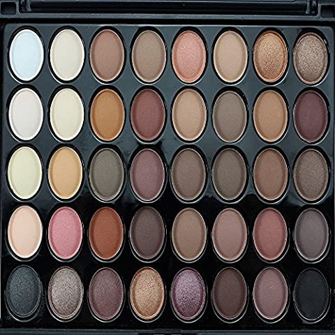 Tonsee 40 Colori Polvere Cosmetica Ombretto Palette Trucco Set Matt Disponibile,E40#1