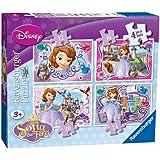 Princesa Sofía - Puzzle 4 en la caja (Ravensburger 07328 3)