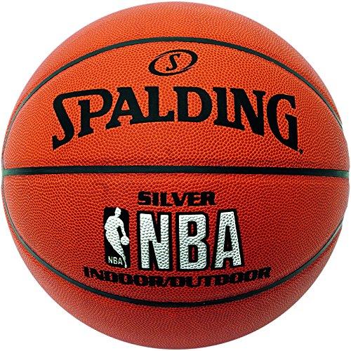 Spalding NBA Silver In/Out Balón de baloncesto, Unisex adulto, Ladrillo, 7