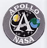 PATCH,TOPPA RICAMATA TERMOADESIVA APOLLO NASA