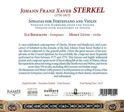 Zoom IMG-2 sonatas for fortepiano violin