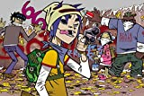 TST INNOPRINT CO Gorillaz Team Poster Characters 24x36 inches a
