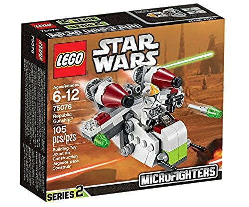 LEGO Star Wars 75076 - Republic Gunship Star Wars Lego-männer