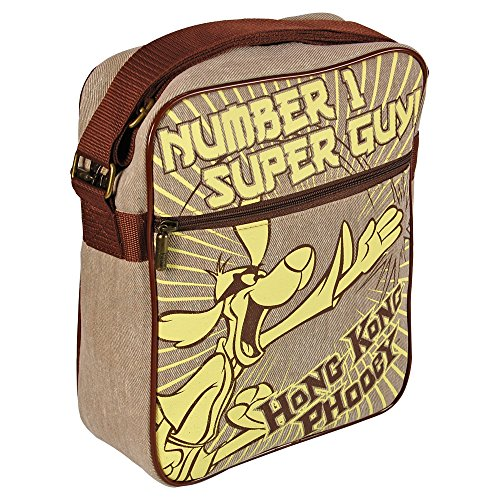 Hong Kong Phooey Flight Bag - Number 1 Super Guy Cool Retro Kids TV Design
