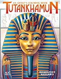 Tutankhamun. (Artists Colouring Book)