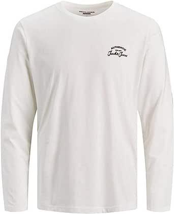 Jack & Jones Men's Jjhero Tee Ls Crew Neck T-Shirt