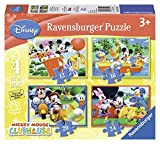 Ravensburger Disney - 4 in 1 Mickey Mouse Club House Puzzle