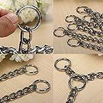 Kungfu Mall Pet Strong Steel Metal Training Pet Choker Chain Collar (L) 11