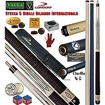 Longoni Vaula Classic Victoria Pro stecca Biliardo Internazionale 5-9 Birilli.