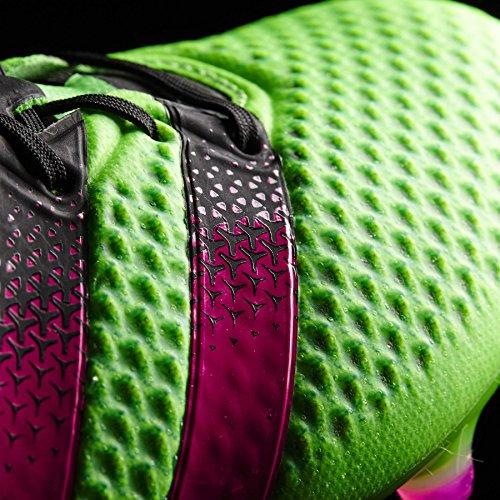 adidas Herren Ace 16.1 Primeknit Sg Fußballschuhe Grün / Pink / Schwarz (Versol / Rosimp / Negbas)
