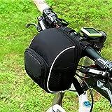Wasserdichte Fahrradtasche, Lenkradtasche, Fahrradkorb, Aufbewahrungstasche für Ihr Fahrradzubehör