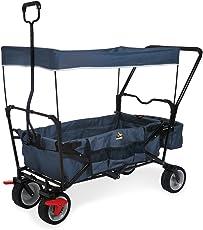 Pinolino 238021 Klappbollerwagen 'Paxi dlx Comfort' mit Bremse, marineblau
