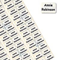 60 MINI PRE-CUT Name Tapes/Labels IRON-ON School Uniform tags Soft satin fabric - FAST SERVICE - Orders shipped within 24 hours Ð TO SEND NAME Ð Use the GIFT MESSAGE box at the checkout.