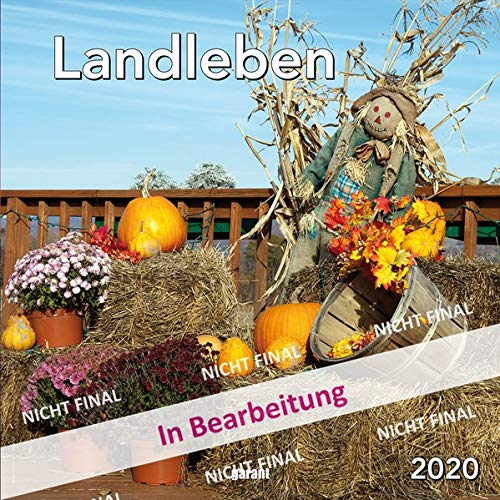 Monatskalender Landleben 2020: 30 x 30 cm