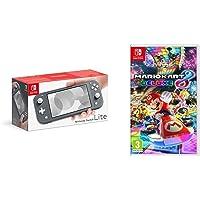 Nintendo Switch Lite - Grey + Mario Kart 8 Deluxe