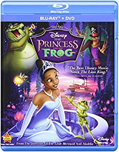 The Princess And The Frog Dvd Cover