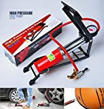 #8: Jannat Air Pressure Foot Pump Air Pump For Bike, Car , Motorcycle ,Balls, etc