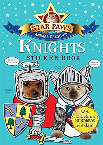 Knights Sticker Book: Star Paws: An animal dress-up sticker book