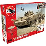 Airfix 1:48 Scale British Army Attack Force Gift Set
